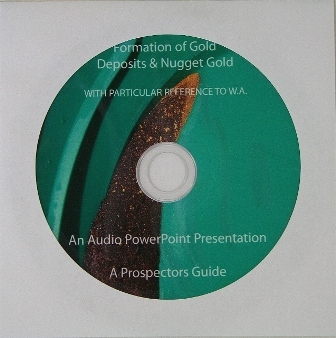 CD Formation of Gold Deposits & Nuggets