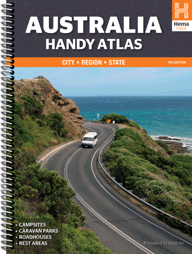 Australia Handy Atlas- Hema Maps