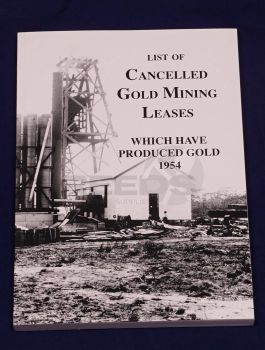 List of Cancelled Gold Mining Leases
