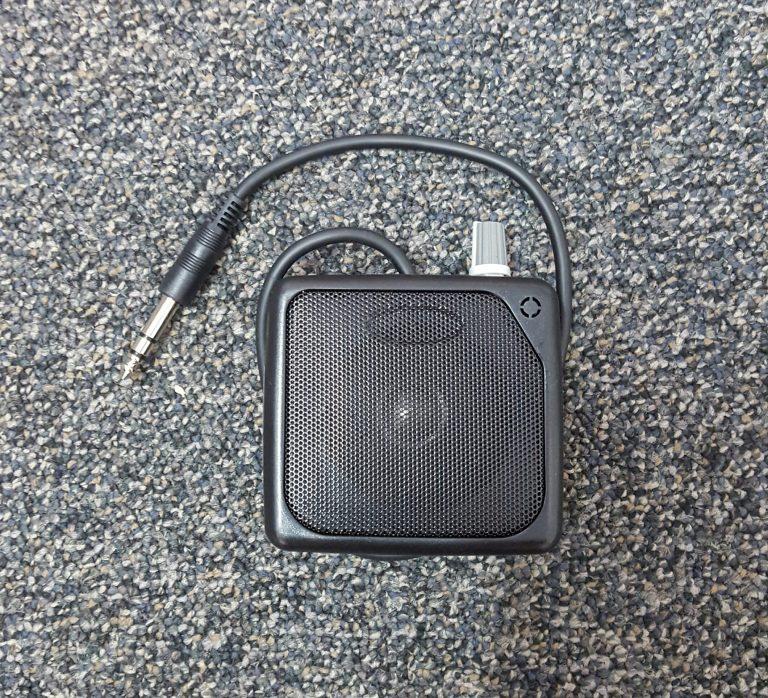speaker with volume control